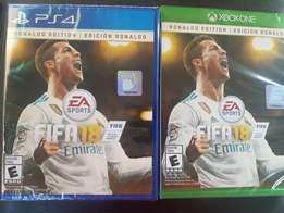 Fifa18 Ronald edition ps4