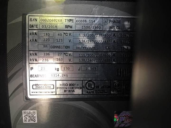 Doosan P086TI-1 - 185 kVA Generator - DPX-15549.1 - 2019 - image 19