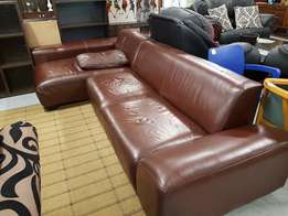 L- Shape Leather couch