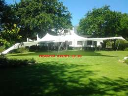 BEDOUIN STRETCH TENTS (hire and sale) at Resource Events