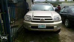 Very clean Toyota 4- runner 2005 model available for sale