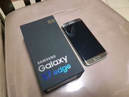 6 months old Samsung galaxy s7 edge for sale