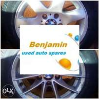 bmw spare rims with tyres