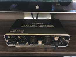 Roland Quad Capture Sound Card