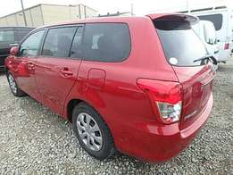 Toyota fielder wine Red 2010 Fully Loaded