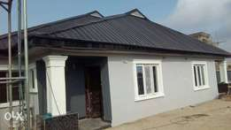 Newly built 2 bedroom bungalow off water bus stop, Alimosho