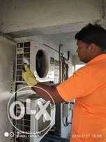 Window ac gass filling in cheap price