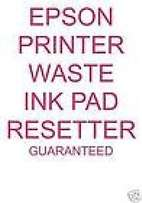 Epson Waste ink pad resetter and Keys