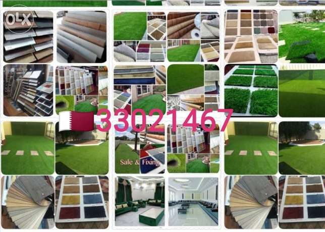 We have artificial grass carpet sale and fixing