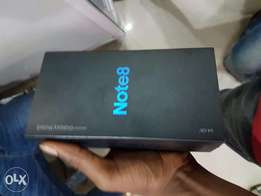 Brand new Samsung Galaxy Note 8 64GB Black