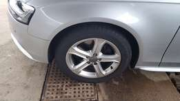 "Audi 17"" A4 SE Rims and New Bridgestone Potenza Tyres"