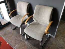 Beautiful Imported Office Reception Chairs
