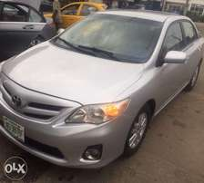 registered 2012 Toyota Corolla