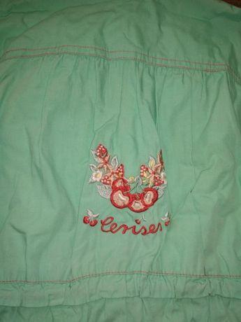 Куртка Вітровка ярка стильна з актуальною вишивкою Велика Любаша -  зображення 3 b36119fbaf8ef