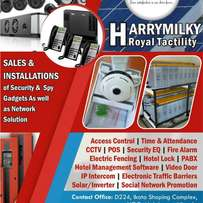 Access Control, CCTV, PABX, Inverters, Solar Panels and so much More..