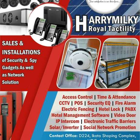 Access Control, CCTV, PABX, Inverters, Solar Panels and so much More.. Lekki - image 1