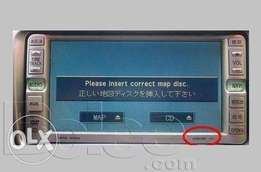 "Clear""Please insert correct disk"":For Toyota,subaru,nissan radios:1500"