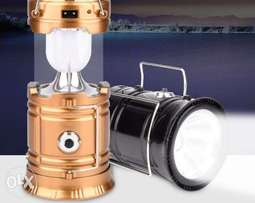 Solar Rechargeable Lamp Latern