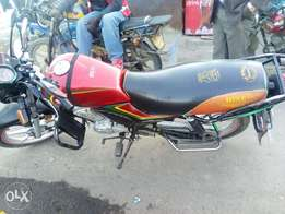 Selling motorbike as its
