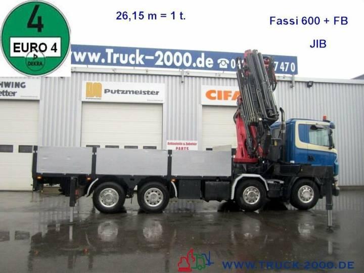 Scania R 420 Fassi 600 60T/M Jib Seilwind FB Euro 4 - 2006