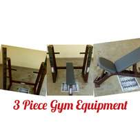 3 equipment one price. Squat rack.olympic flatbench. Incline bench