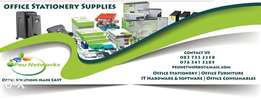 Office stationery and furniture suppliers