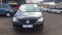2008 Black VW Polo 1,6 for sale