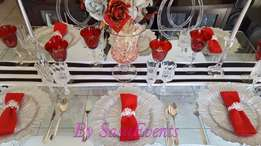 wedding planning and decor