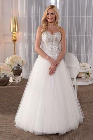 Suknia ślubna Princessa Księżniczka Ala La Sposa Svarowski