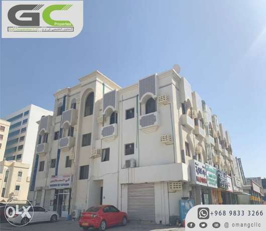 2BHK for rent al khoudh behind al basha house coffe shop