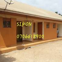 Self contained two rooms houses in Kasangati at UGX 250K