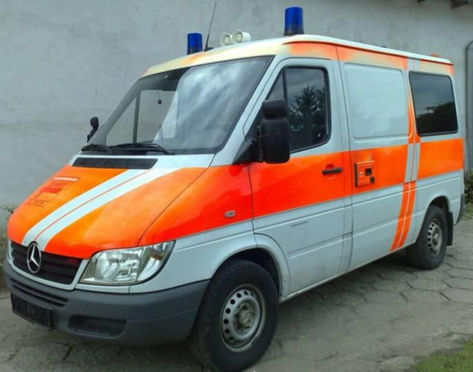 Mercedes-Benz Sprinter 213CDI Krankenwagen/Rettungswagen - 2004