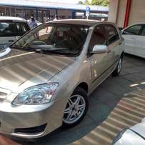Month end Special: 2006 Toyota Runx 1.6rsi for R 68000.00
