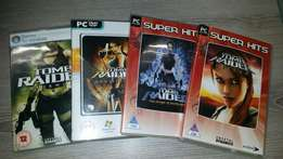 Lara Croft Tomb Raider Collection for PC- 4 games. R250 for the lot.