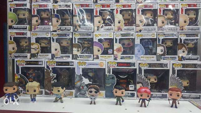 Funko pops vynil figures collection