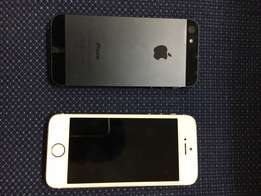 iPhone 5S and iPhone 5