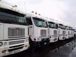 Freightliner trucks up for Grabs this season