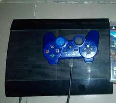 250gb Ps3 superslim with one pad , HDMI