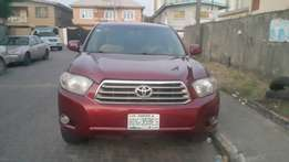 Toyota Highlander well used