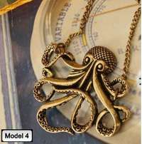 Pirates of Caribbean Necklace (Octopus)