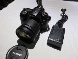 Nikon D90 with Tamron 28-200 Lens SHUTTERCOUNT is 17460