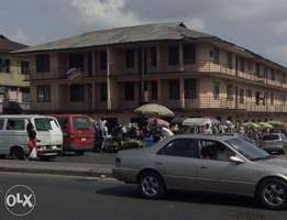 Two Stories Building Along Ikwerre Road