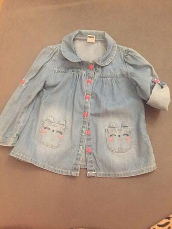 Джинсовая рубашка на девочку  200 грн. - Одяг для дівчаток Одеса на Olx 56f5d15e80793