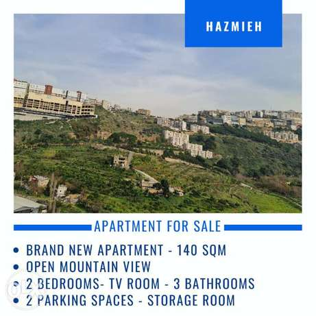 Brand New 140 sqm Apartment for sale in Hazmieh, Mountain View, BC Acc