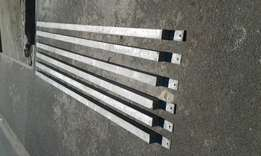 For sale galvanised carport poles x 6