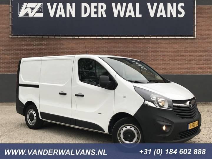 Opel Vivaro 1.6cdti 125pk Bi-turbo L1h1 Airco, Navi, Cruise, - 2017