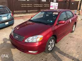 Extremely Clean Tokunbo 2003 Corolla Sport