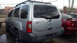 Nissan Xterra 2004 model with Auxiliary gear etc