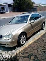 Mercedes 320 CLK coupe