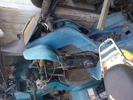 suzuki lt 160cc quads x 2 for spares or make offer on both!!